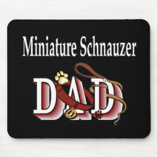 Tapis De Souris Cadeaux de papa de Schnauzer miniature