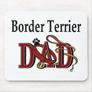 Tapis De Souris Cadeaux de papa de Terrier de frontière
