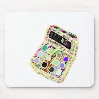 Tapis De Souris calculatrice colorée