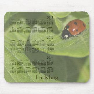 Tapis De Souris Calendrier 2012-2014 de coccinelle Mousepad