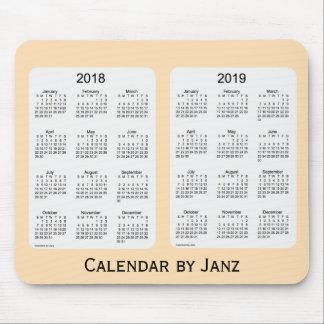 Tapis De Souris Calendrier 2018-2019 de blé par Janz Mousepad