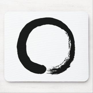 Tapis De Souris Calligraphie de zen de cercle d'Enso