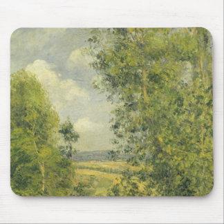 Tapis De Souris Camille Pissarro | un repos dans le pré