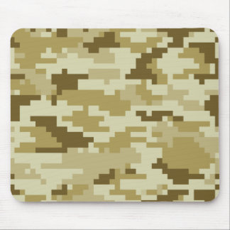 Tapis De Souris Camouflage/Camo de désert de pixel de 8 bits
