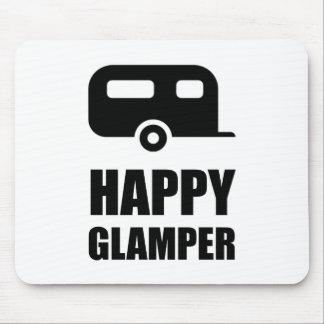 Tapis De Souris Campeur heureux de Glamper