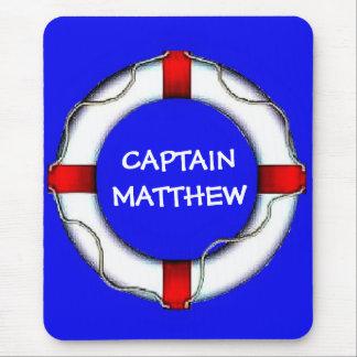 Tapis De Souris Capitaine Lifesaver Art