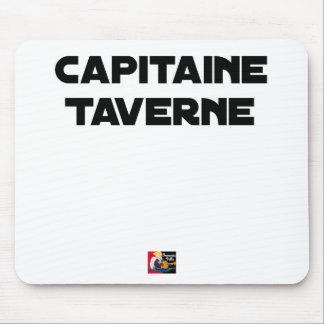 Tapis De Souris CAPITAINE TAVERNE - Jeux de mots - Francois Ville