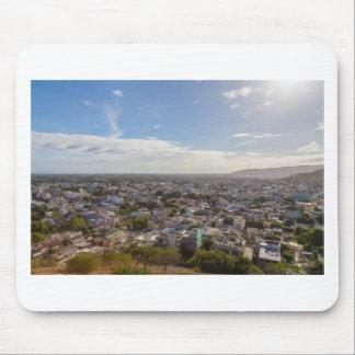 Tapis De Souris Capitale panoramique de Port-Louis des Îles