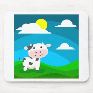Tapis De Souris Caractère de vache