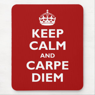 Tapis De Souris Carpe Diem !