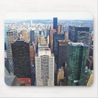 Tapis de souris carré de New York City