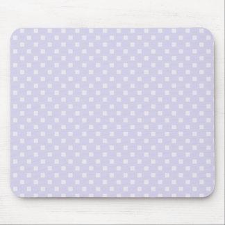 Tapis de souris carré de point de polka de pourpre