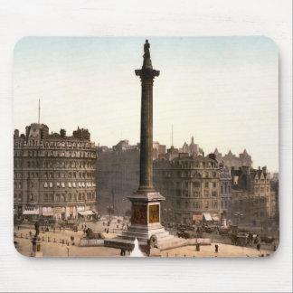 Tapis De Souris Carré de Trafalgar Londres Angleterre