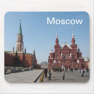 Tapis De Souris Carré rouge. Moscou, Russie