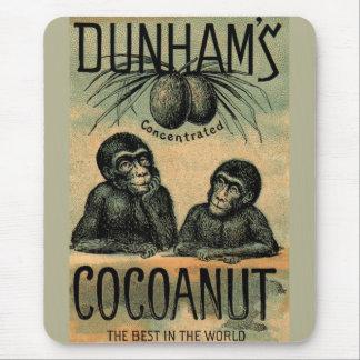 Tapis De Souris Carte commerciale victorienne : Cocoanut de Dunham