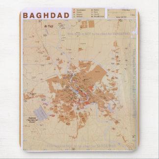 Tapis De Souris Carte de Bagdad, Irak (2003)