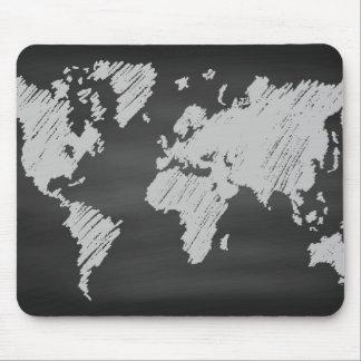 Tapis De Souris Carte de tableau du monde