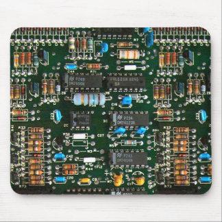 Tapis De Souris Carte électronique d'ordinateur