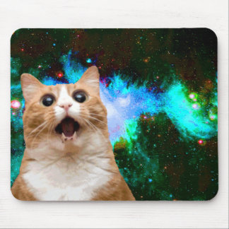 TAPIS DE SOURIS CAT DE GALAXIE