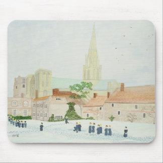 Tapis De Souris Cathédrale de Chichester et choeur de visite