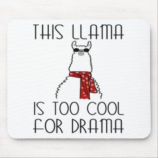 Tapis De Souris Ce lama est trop frais pour le drame
