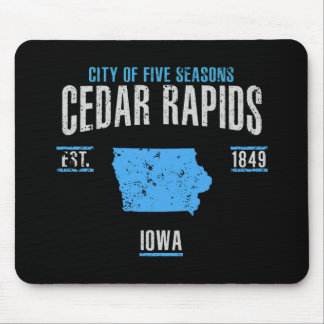 Tapis De Souris Cedar Rapids
