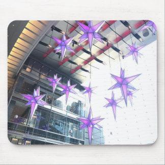 Tapis De Souris Cercle NYC de Columbus de décorations de Noël