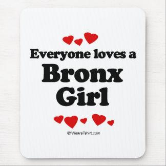 Tapis De Souris Chacun aime une fille de Bronx