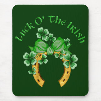 Tapis De Souris Chance O l'Irlandais
