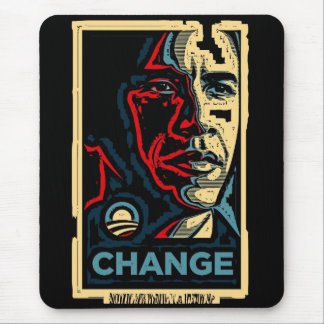 Tapis De Souris Changement d'Obama