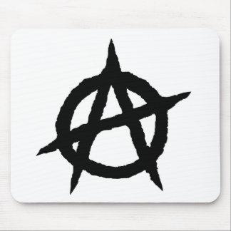 Tapis De Souris Chaos punk de signe de culture de musique de noir