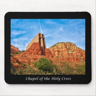 Tapis De Souris Chapelle du Sedona croisé saint, AZ