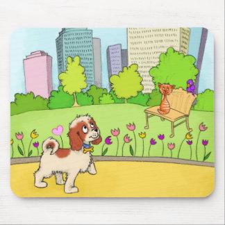 Tapis De Souris Charlie le Central Park cavalier