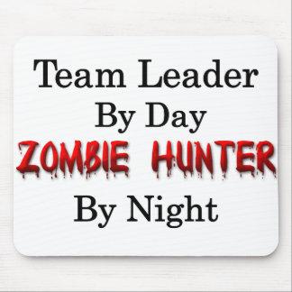 Tapis De Souris Chasseur de meneur d'équipe/zombi