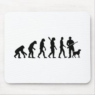 Tapis De Souris Chasseur d'évolution