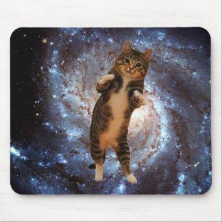Tapis De Souris Chat dans l'espace