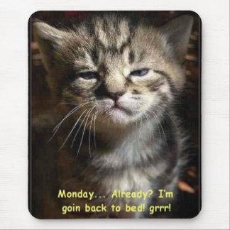 Tapis De Souris chat de lundi