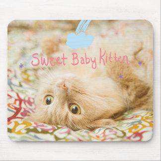 Tapis De Souris Chat doux de bébé