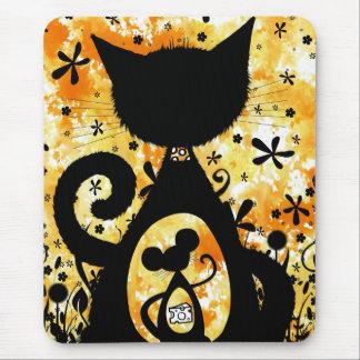 Tapis De Souris chat et souris