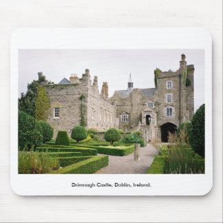 Tapis De Souris Château médiéval de l'Irlande - château Dublin de