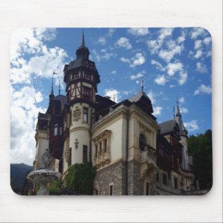 Tapis De Souris Château royal célèbre Peles dans Sinaia, Roumanie