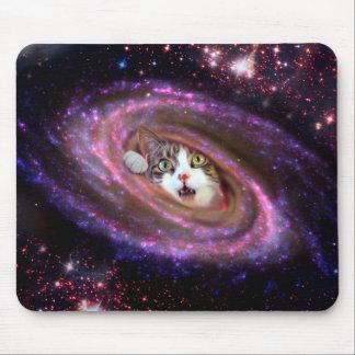 Tapis De Souris Chats LOL Mousepad de l'espace de galaxie