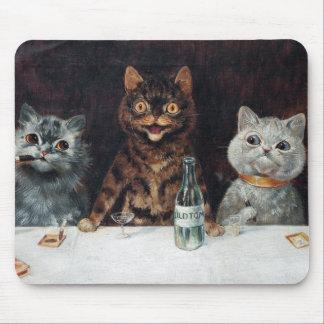 Tapis De Souris Chats, Louis Wain