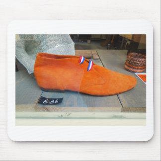 Tapis De Souris Chaussure néerlandaise d'orange de photographie