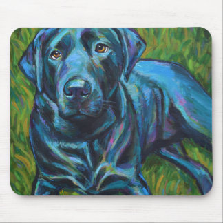 Tapis De Souris Cheesesteak de Philly le LABRADOR NOIR