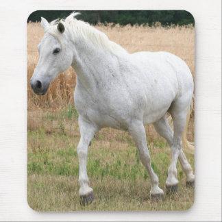 Tapis De Souris Cheval blanc tacheté