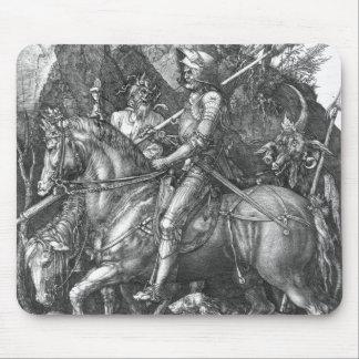 Tapis De Souris Chevalier, mort et le diable, 1513 (gravure)