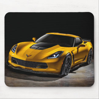 Tapis De Souris Chevrolet Corvette Z06 Mousepad