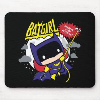 Tapis De Souris Chibi Batgirl prêt pour l'action