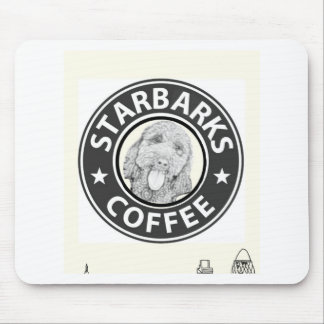 Tapis De Souris chien Starbucks